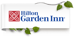 The Hilton Garden Inn logo for Mississauga Toronto